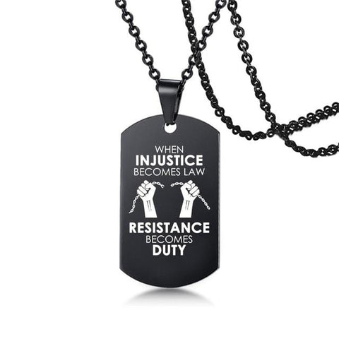 New Black Lives Matter Necklace and Pendants NS3 IS2 IS1 VAL1