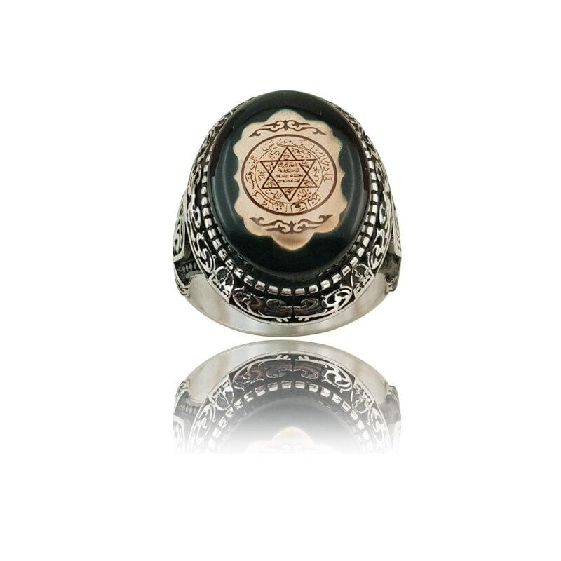 Seal of Solomon Turkish Ring from Almas Collections