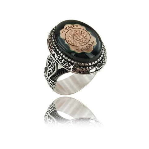 Image of Seal of Solomon Turkish Ring from Almas Collections