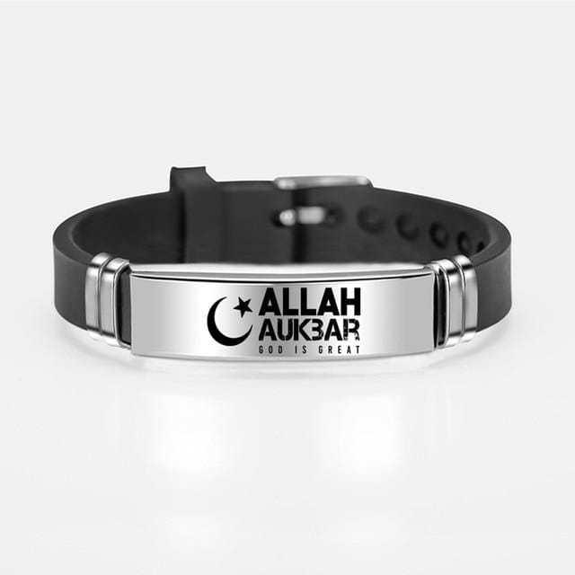 Islamic Bracelet for Him and Her Allah Aukbar from Almas Collections