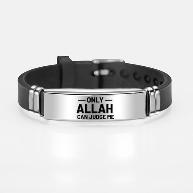 Islamic Bracelet for Him and Her Allah is judge from Almas Collections