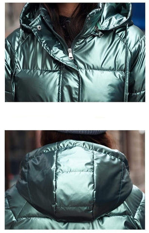 Image of Winter Short Parkas Jackets quality close from Almas Collections