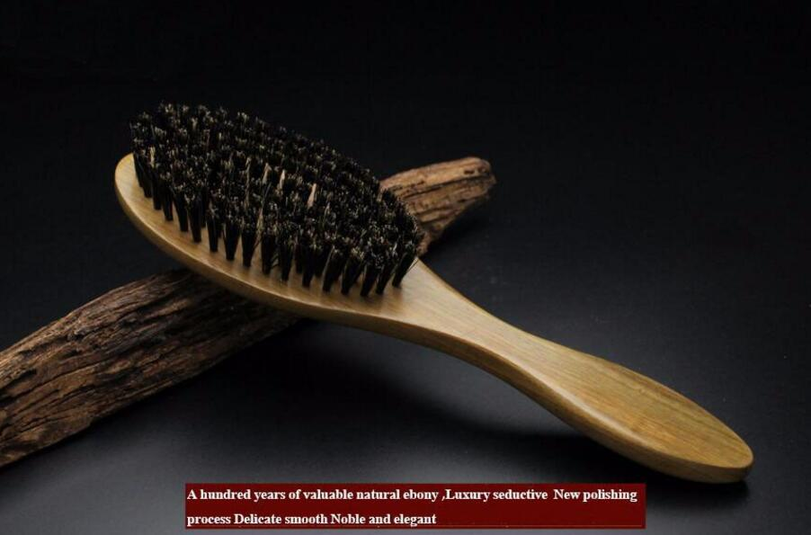 Sandalwood and Wild Boar Bristles Hair Brush