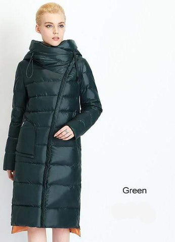 Image of New Parka Trendy long Hooded waterproof coat AW1 Almas Collections  New Parka Trendy long Hooded waterproof coat