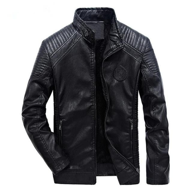New Men's Classic Leather Jacket AW1 Almas Collections