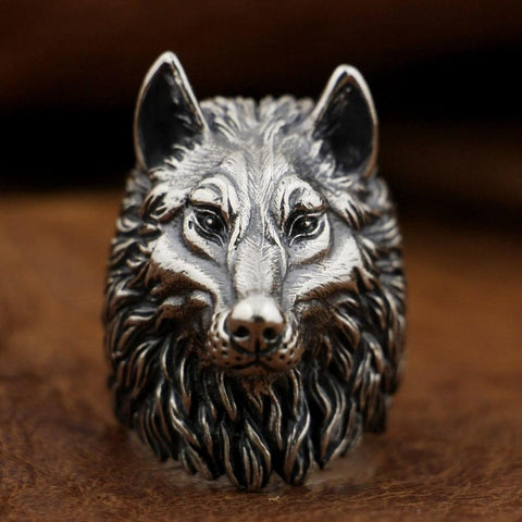 Image of New Wolf 925 Sterling Silver Ring from Almas Collections