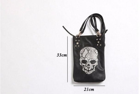 Image of Punk Tote CrossBody Shopping Bag H1 Almas Collections  tote bag