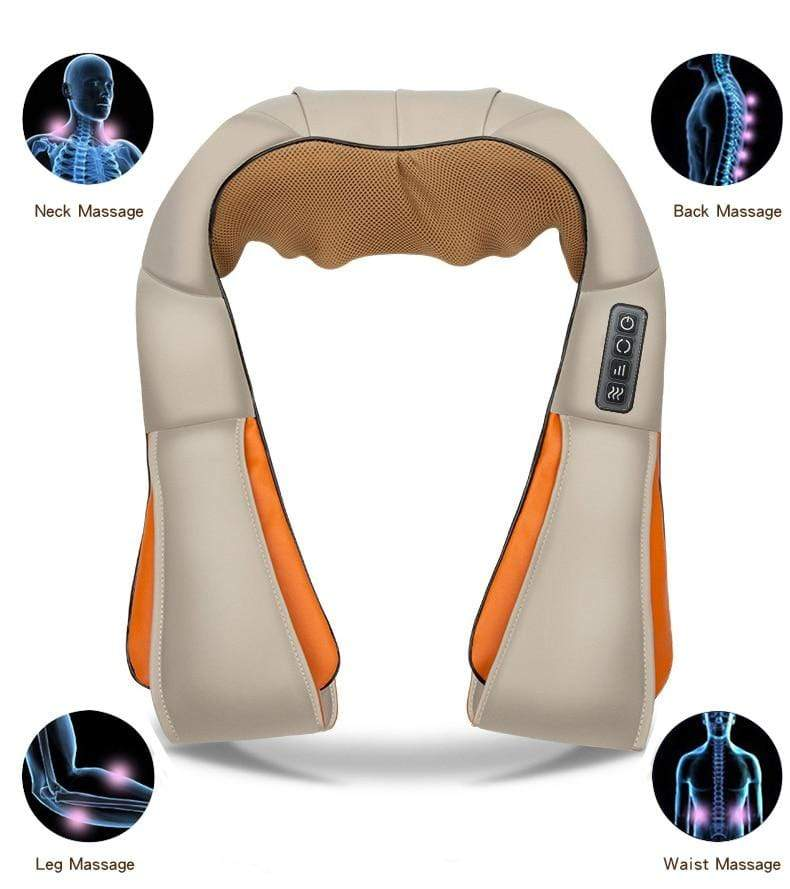 New Home &  Car Shiatsu Body Massager E1 e1 Almas Collections  New Home & Car Shiatsus Body Massager