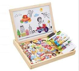 Image of New 100+PCS Wooden Magnetic Puzzle in 5 styles KS1 - Almas Collections