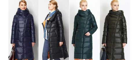 Image of New Parka Trendy long Hooded waterproof coat AW1 | Almas Collections |