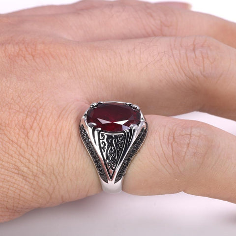 New 925 Silver Vintage Turkish Ring For Men & Women IS1 IS2 NS2