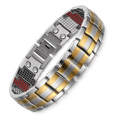 Image of New Germanium Magnetic H Power Titanium Bracelet NS3 VAL1 Almas Collections