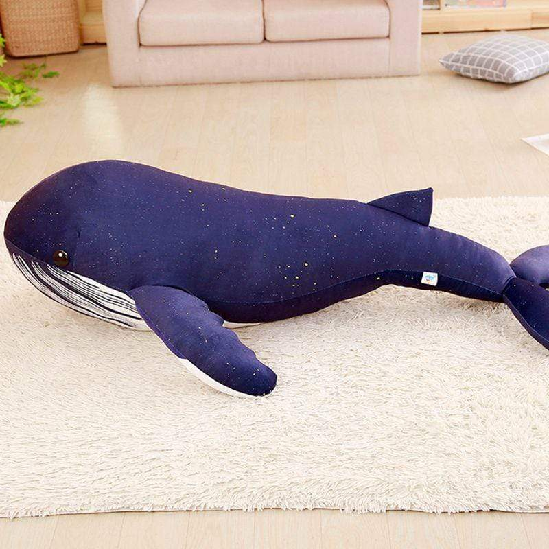 New Huge Big blue whale Plush Toy from Almas Collections
