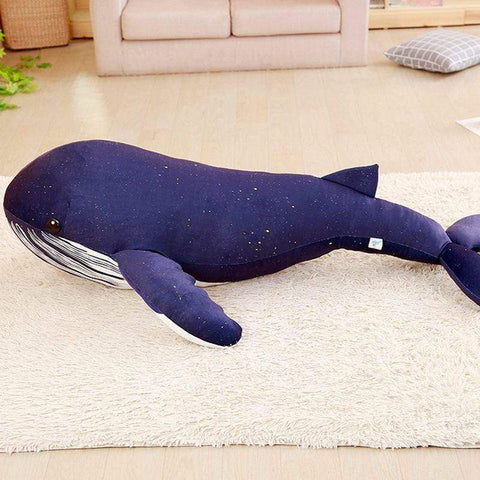 Image of New Huge Big blue whale Plush Toy from Almas Collections