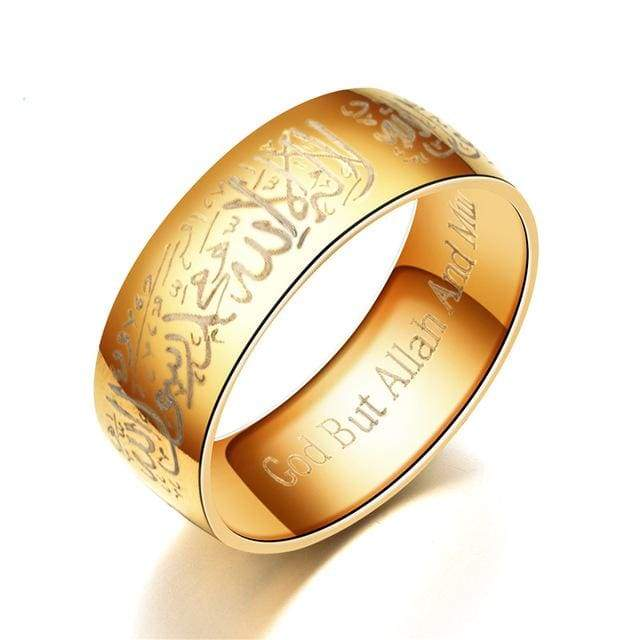 Stainless Steel Women/Men Black Blue Gold Color Rings IS1 | Almas Collections |