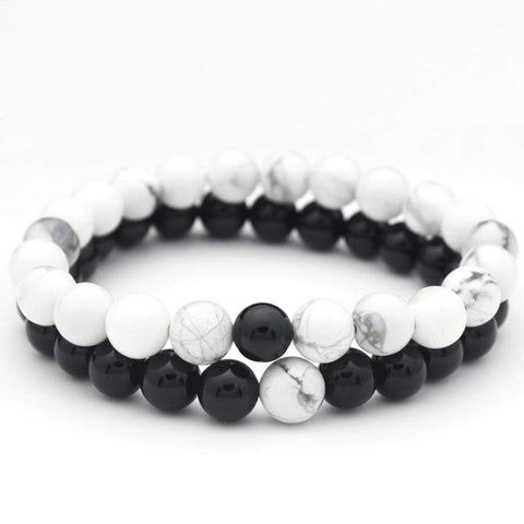 Image of Trendy Round Natural Stone Bracelets NS3 Almas Collections other bracelets