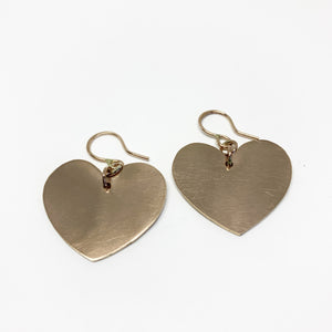 Heart Silhouette Earrings