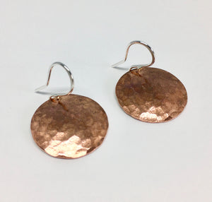 Full Moon Earrings - Small
