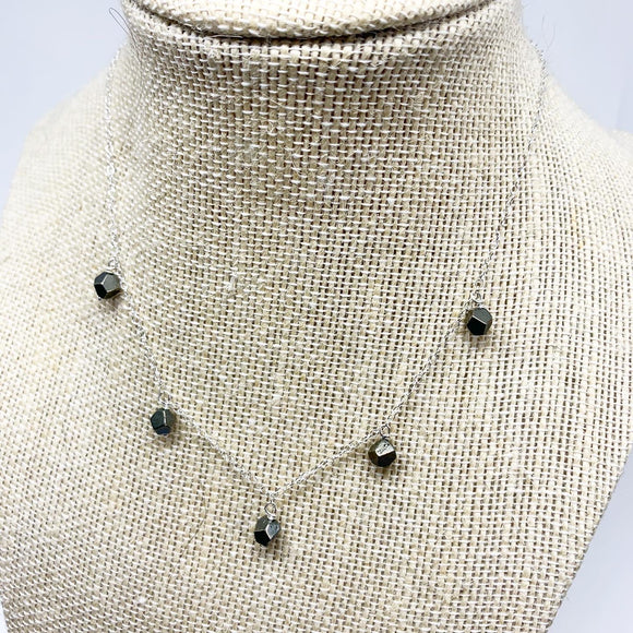 Pyrite Choker Necklace