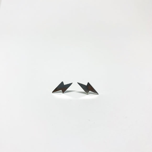 Mini Lightning Bolt Stud Earrings