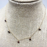 Garnet Choker Necklace
