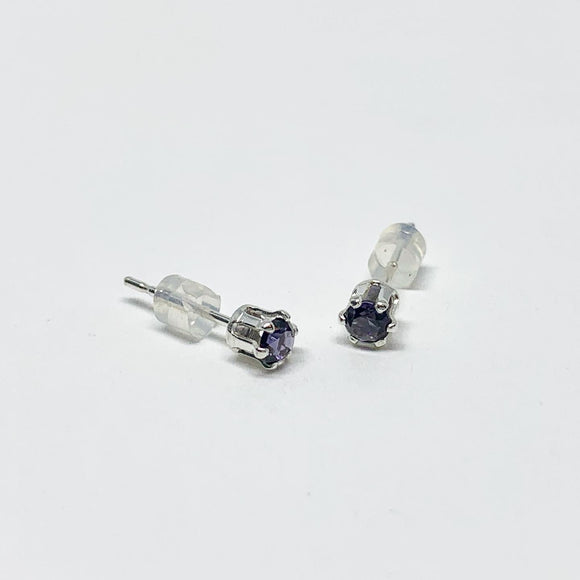 Alexandrite Birthstone Earrings - June Birthstone