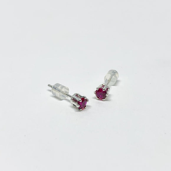Garnet Birthstone Earrings - January Birthstone