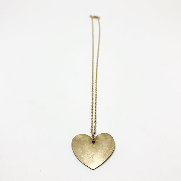 Love is Love - Heart Silhouette Necklace