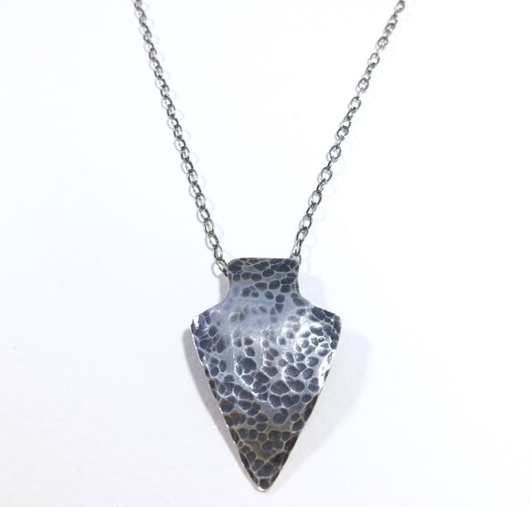Rustic Arrowhead Necklace