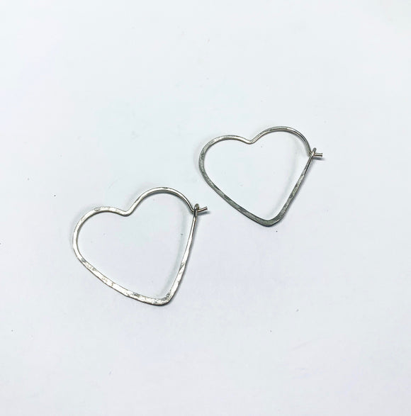 Small Heart Hoops 1