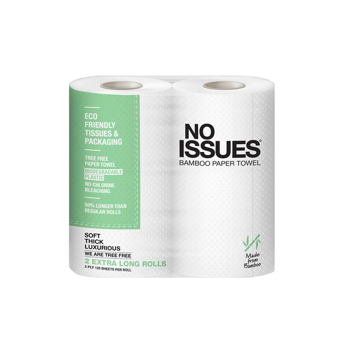 Eco Friendly Kitchen Towels  - 2 Extra Long Rolls
