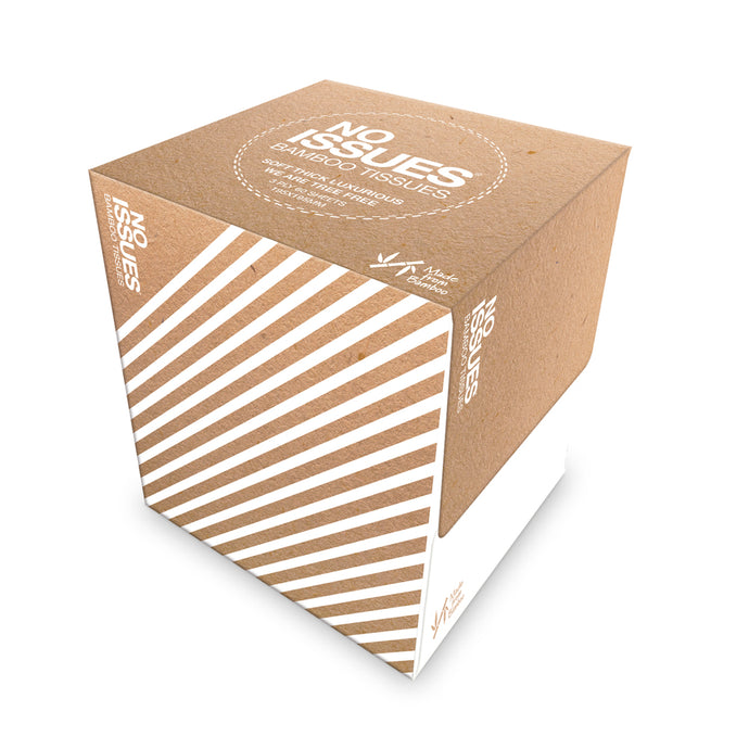 Cube Box Tissues - White on Craft