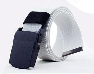 Casual Wide Canvas Breathable Belt