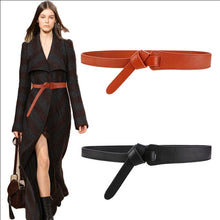 Load image into Gallery viewer, Luxury Belt for Women Bow Design Thin