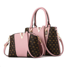 Load image into Gallery viewer, 2 Piece Stylish Shoulder bag and Handbag