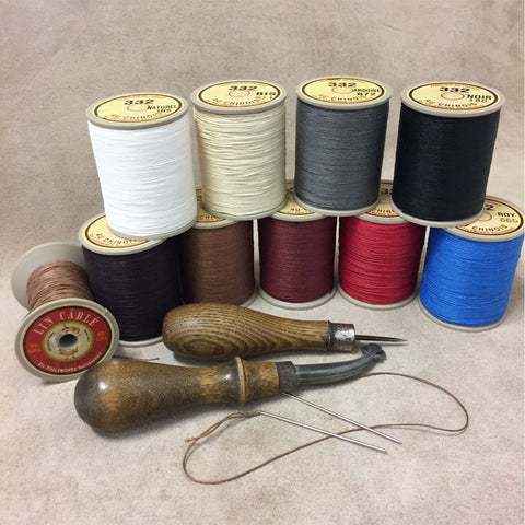 Belt & Band Bespoke Leatherwork - French Lin Cable Thread