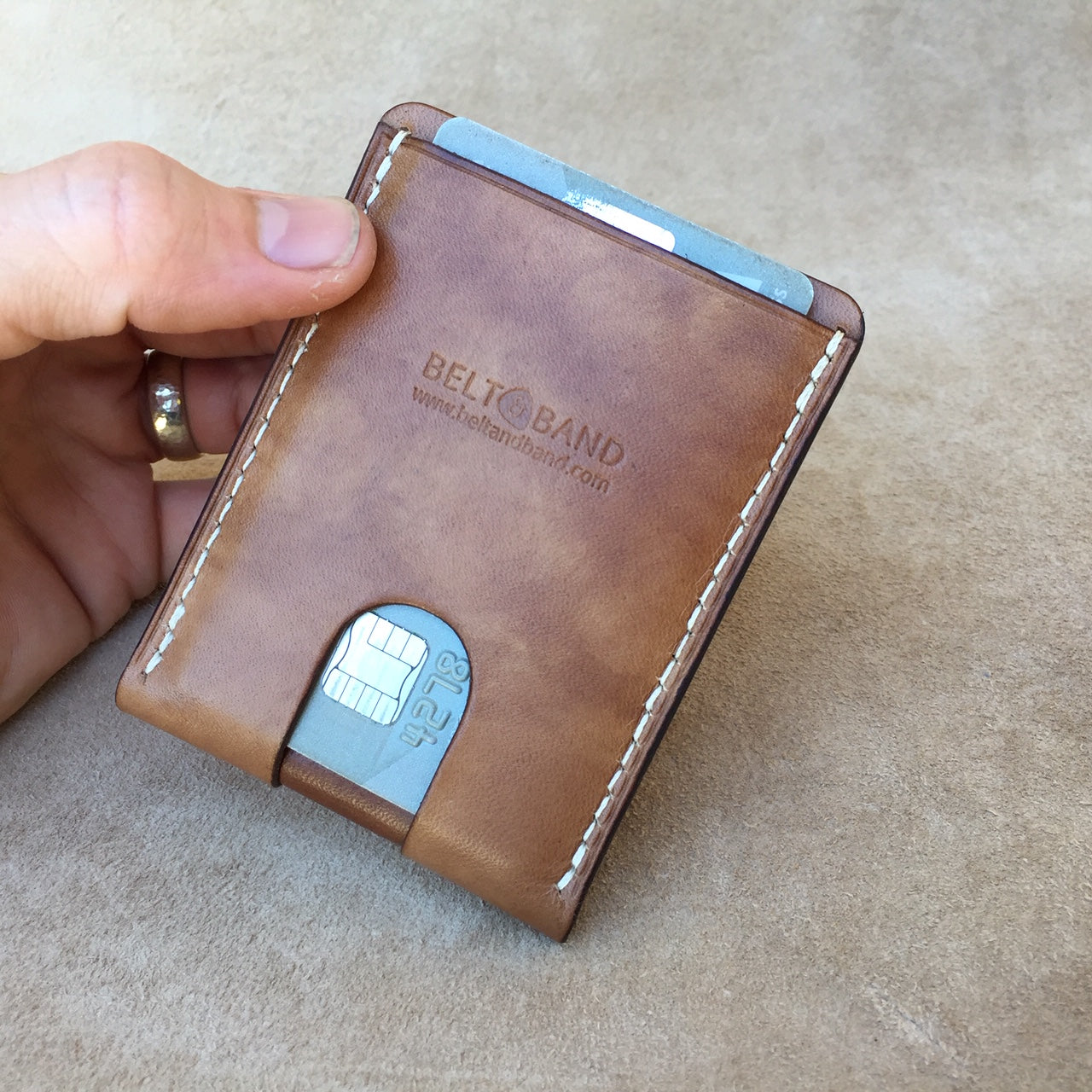 """Whitehorn"" Money Clip Card Wallet"