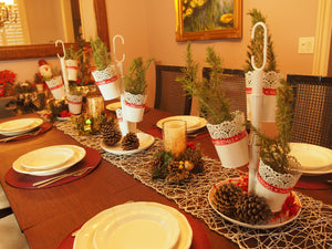 Fresh Herbal Decoration: Rosemary Christmas