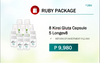 Ruby Package (8Kirei & 5Longev8) Free Delivery via COD