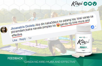 Kirei Glutathione (3 Bottles Free Delivery)