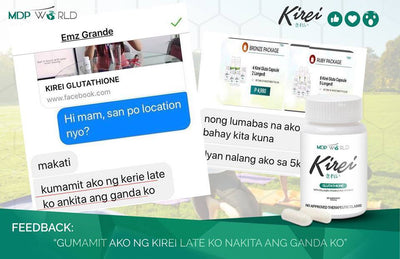 Kirei Glutathione 2 Bottles (Free Delivery)