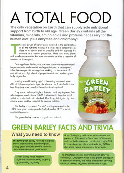 Green Barley Super Food