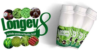 Longev8 Ashitaba Mix Juice