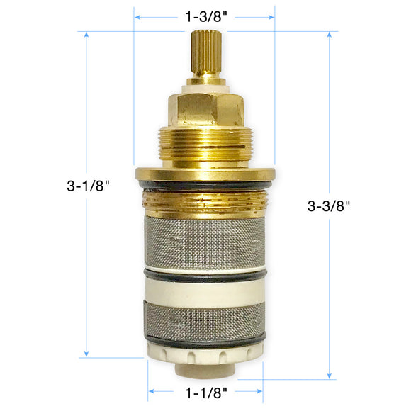 Simply Safe Thermostatic Valve Cartridge 18.30.155