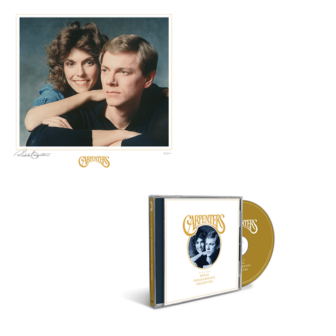 Carpenters with the Royal Philharmonic Orchestra - CD + Litho
