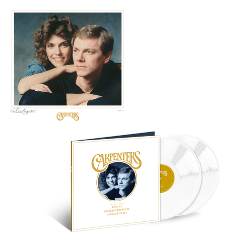 Carpenters with the Royal Philharmonic Orchestra - Limited Edition LP + Signed Litho