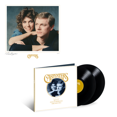 Carpenters with the Royal Philharmonic Orchestra - LP + Litho