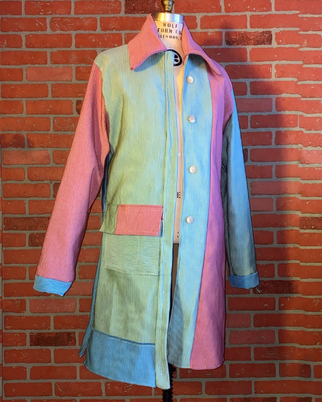 "Cointel ""Pangaea  Party"" Trench Coat"