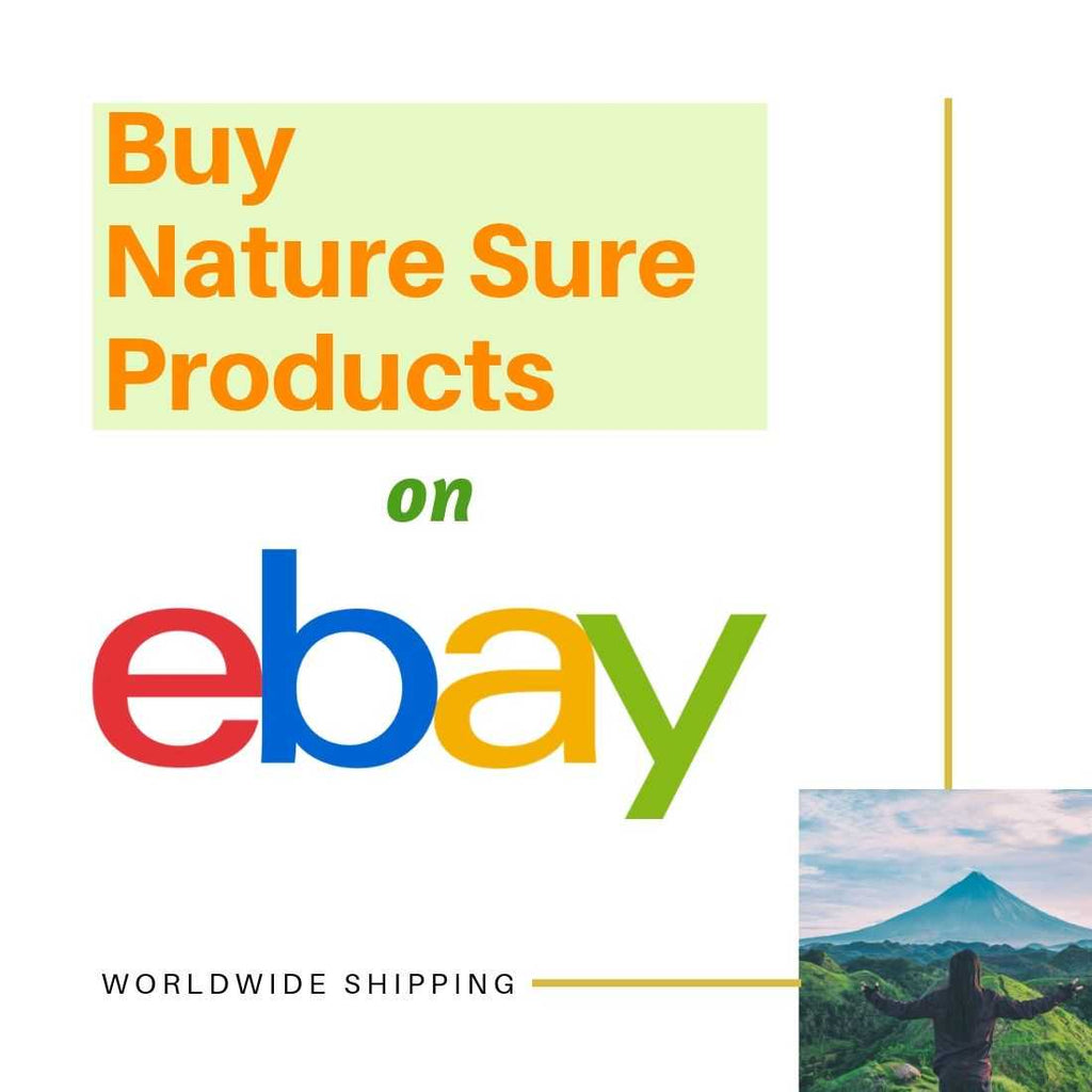Buy Nature Sure products on ebay and get them delivered anywhere in the world