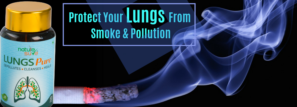 Lungs Pure protects you from pollution naturally, and also keeps you happy!